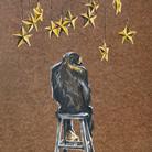 Simone Fugazzotto, THE DREAMER, 30 x 40 cm, Olio su tavola | Courtesy of Simone Fugazzotto e Fondazione Maimeri