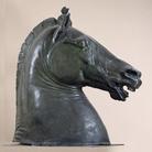Donatello, Testa di cavallo, Bronzo, H 175 cm, Napoli, Museo Archeologico Nazionale, Dal Palazzo di Diomede Carafa