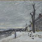 Alfred Sisley, Temps de neige à Veneux-Nadon / Tempo da neve a Veneux-Nadon