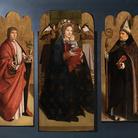 Agli Uffizi ricomposto il Trittico di Antonello da Messina