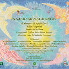 In Sacramenta Manent