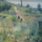 Pierre-Auguste Renoir (1841 - 1919), Il sentiero nell'erba alta, 1876-1877, Olo su tela, 60 x 74 cm, Parigi Musée d'Orsay Blue pencil.svg