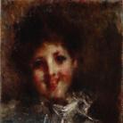 Luigi Conconi, Sorriso, 1878-1879 circa, Olio su tela, 49 x 39 cm, Collezione privata