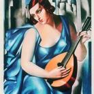 Tamara de Lempicka, La musicienne, 1933. Acquatinta, 63x41 cm. Collection Henry Leal, Paris © Tamara Art Heritage. Licensed by MMI NYC/ ADAGP Paris/ SIAE Roma 2015