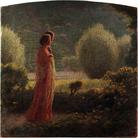 Giuseppe Pellizza da Volpedo, L'amore nella vita, 1901-1902. Olio su tela, 93 x 92 cm