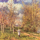 Alfred Sisley, The Small Meadow in Spring, 1880.