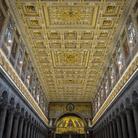 Soffitto della Basilica di San Paolo fuori le Mura a Roma, Immagine tratta dal film