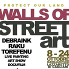 Walls of street art - Protect our land