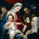 Alessandro Casolami, Sacra Famiglia con San Giovannino e Santa Caterina d'Alessandria