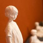 Paolo Troubetzkoy, Bambino in piedi (Paul Clark), s.d., Gesso non patinato, 15 x 14 x 50 cm | Courtesy of Museo del Paesaggio di Verbania | Foto: Francesco Lillo 2016
