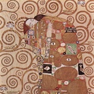 Gustav Klimt, L'Abbraccio, 1905-1909, MAK - Museo di arti Aplicate, Vienna