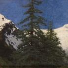 Angelo Morbelli, Alta montagna, 1912. Olio su tela, 68 x 125,5 cm