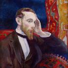 Daniel de Monfreid, Portrait d'Amédée Calmel, 1893, Olio su tavola, Quimper | Courtesy of Studio Esseci 2016