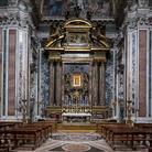 Interno della Basilica di Santa Maria Maggiore a Roma, Immagine tratta dal film