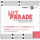 Hit Parade. The top biennial exhibit Paratissima 2016/2017