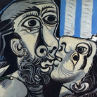 Pablo Picasso, Il bacio, 1925, Olio su tela, 130 x 97.7 cm, Musée National Picasso, Parigi