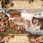 Michelangelo Buonarroti, Il Diluvio universale, 1509 circa, Affresco, 570 x 280 cm, Cappella Sistina, Musei Vaticani, Città del Vaticano, Roma