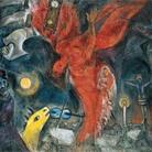 The Devil, pp. 18-19, (Particolare), Marc Chagall, la caduta dell'angelo, 1923-47, Basilea, Kunstmuseum