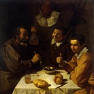 Diego Velázquez (1599 - 1660), Il Pranzo, 1617, Olio su tela, 102 x 108.5 cm, Museo Statale Ermitage, San Pietroburgo