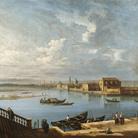 Pietro Bellotti, L'Isola di San Cristoforo e San Michele dalle Fondamenta Nuove, cm 129,5 x 135. Ginevra, collezione privata