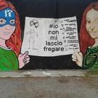iononmilasciofregare: La Street Art risponde al furto di Castelvecchio