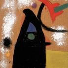 Joan Miró, Senza Titolo, 1978 (ant.), Olio su masonite, 50,5 x 36,5 cm