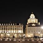 Piazza Castello sottouna nuova luce