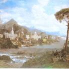 Veduta fantastica dei principali monumenti d'Italia