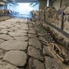 Riemerge intatta un'antica strada romana