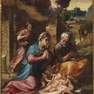 Michelangelo Anselmi. L'Adorazione del Bambino