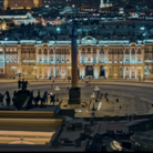 San Pietroburgo, Piazza Ermitage, Still dal film Ermitage. Il Potere dell'Arte | Courtesy Nexo Digital