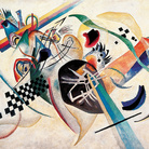Wassily Kandinsky, Composizione su bianco, 1920. Museo Russo di Stato, San Pietroburgo © Wassily Kandinsky, by SIAE 2014