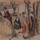 Katsushika Hokusai, Rest House in Kanda Myōjin Shrine, The Sumida Hokusai Museum Collection | Courtesy of the Sumida Hokusai Museum, Tokyo