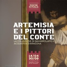 Artemisia e i pittori del Conte