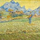 Vincent Van Gogh, Campi di grano in un paesaggio collinare, 1889, Olio su tela, Otterlo, Kroller-Muller Museum