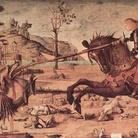 Vittore Carpaccio,San Giorgio e il Drago, 1502, Tempera su tavola, Venezia, Scuola di San Giorgio degli Schiavoni