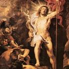 Pieter Paul Rubens, Resurrezione di Cristo, 1611-1612, Olio su tavola, 138 x 98 cm, Anversa, Cattedrale di Nostra Signora