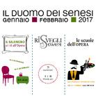 Il Duomo dei Senesi - Gennaio e Febbraio 2017 al complesso del Duomo di Siena