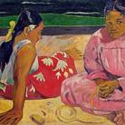 Paul Gauguin,Donne tahitiane sulla spiaggia, 1891, Olio su tela, 69 x 91.5 cm, Parigi, Musée d'Orsay   Courtesy Bridgeman Images