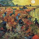 Vincent van Gogh, La Vigna Rossa, 1888, Olio su tela, 75 x 93 cm, Mosca, Museo Puskin | È l'unico dipinto che van Gogh riuscì certamente a vendere durante la sua vita