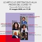 """Le arti e lo spettacolo alla prova del Covid-19"""" - Focus sulle POLITICHE CULTURALI"""