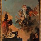 Madonna del Carmelo consegna lo scapolare al Beato Simone Stock