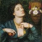 Dante Gabriel Rossetti (1828 - 1882), Monna Pomona, 1864, Acquerello e gomma arabica su carta, 39.3 x 47.6 cm, Tate, Presented by Alfred A. de Pass 1910 | © Tate, London 2019