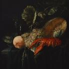 Anonimo, Natura morta con astice, Seconda metà XVII secolo, Olio su tela, 41.5 x 48 cm   Courtesy KHM-Museumsverband