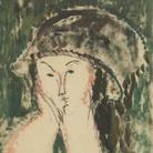 Amedeo Modigliani (Livorno,1884 - Parigi, 1920), Ritratto di Beatrice Hastings, 1915