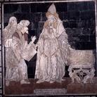 Particolare del Pavimento del Duomo di Siena: Ermete Trismegisto