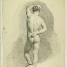 Francesco Hayez, Accademia di spalle, 1812.