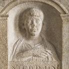 Stele di Fausto e Procula, Fine I secolo d.C. Calcare, 70 x 32 x 109 cm, Museo Archeologico Nazionale di Aquileia | Foto © Gianluca Baronchelli