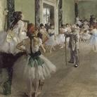 Edgar Degas (1834 - 1917), La lezione di danza,1875, Olio su tela, 85 x 75 cm, Parigi, Musée d'Orsay