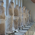 Statue del Campanile di Giotto, allestimento del nuovo Museo dell'Opera del Duomo Firenze. Picture by Claudio Giovannini. Courtesy of ©Museo dell'Opera del Duomo Firenze, 2015